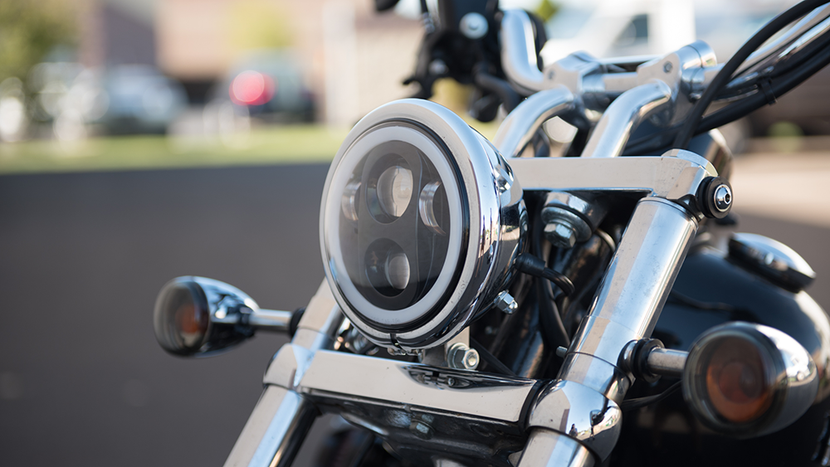 Pathfinder LED Harley Headlight