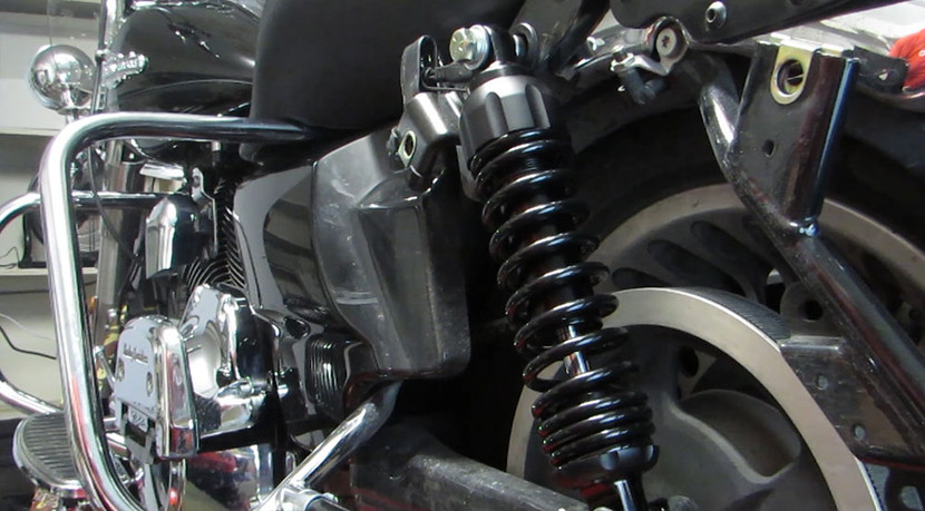 Progressive 444 Shocks Installation on a Harley Touring