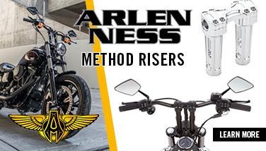 Arlen Ness Method Risers