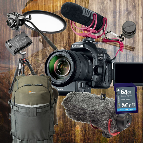 Canon EOS 80D B-Roll Package