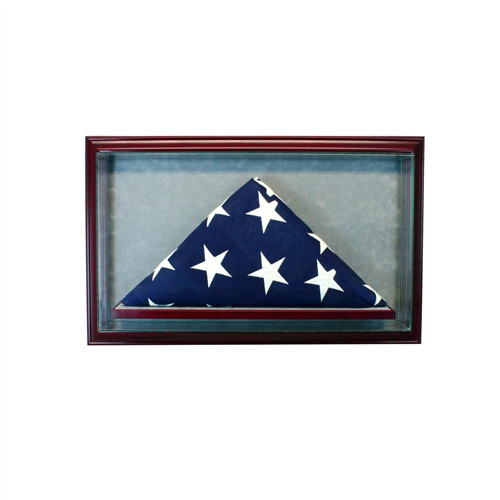 Cabinet Flag Display Case 5 x 3