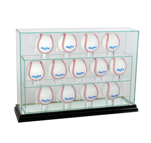 13 Upright Baseball Display Case