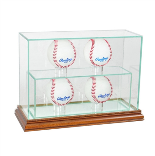 4 Upright Baseball Display Case