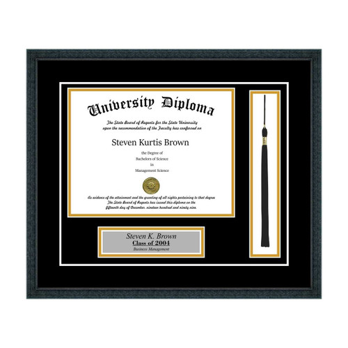 Personalized Diploma Frame with Tassel