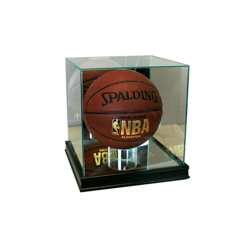 Rectangle Basketball Display Case with Sport Moulding