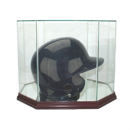 Octagon Batting Helmet Dislpay Case