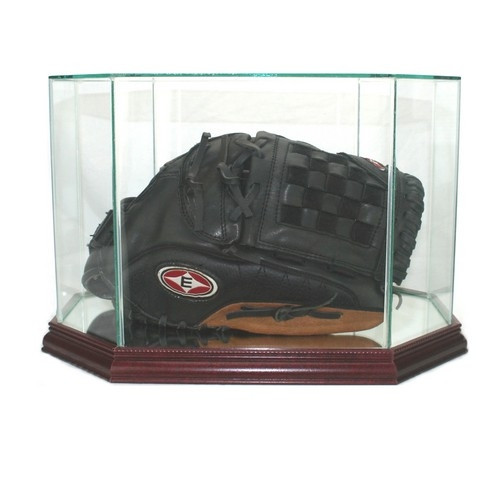 Octagon Baseball Glove Display Case