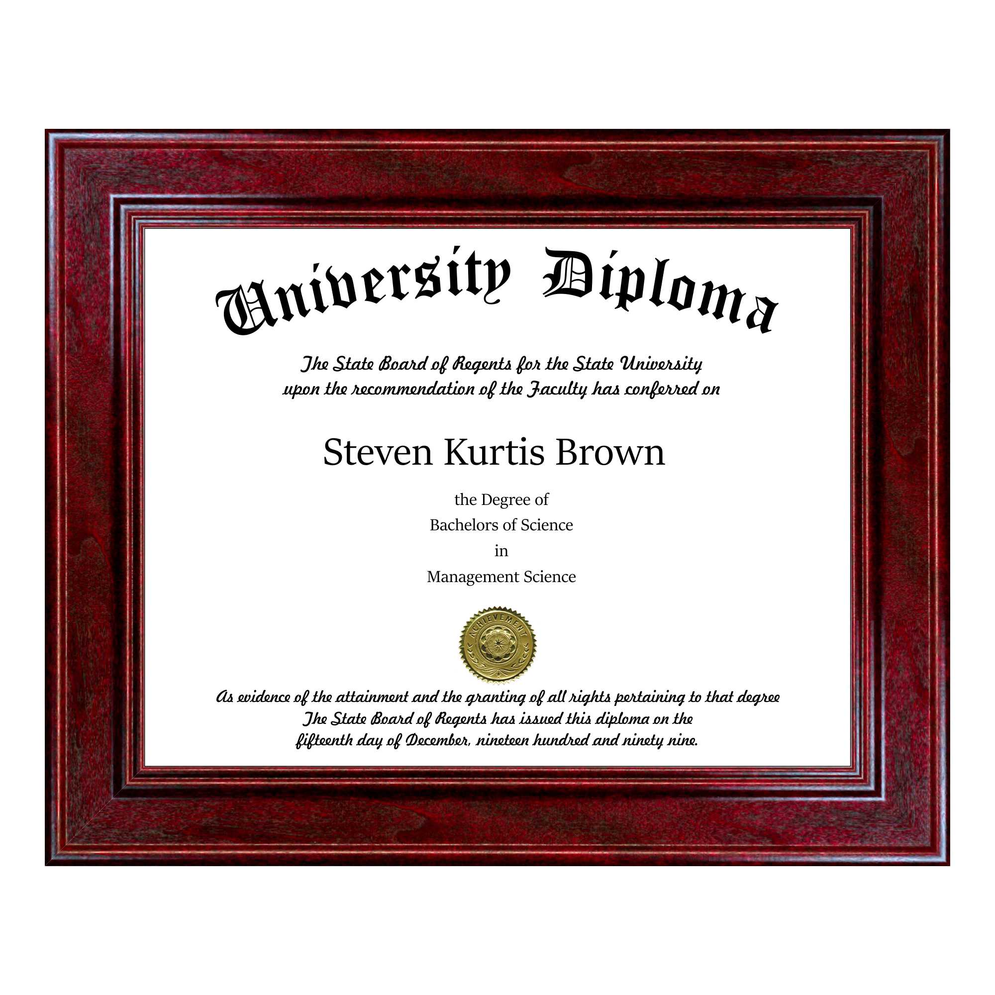 Diploma Frames Perfect Cases And Frames