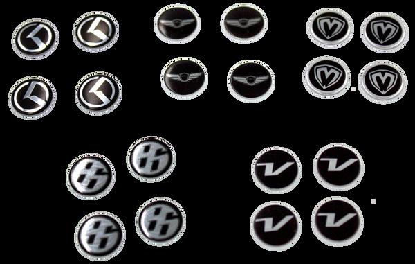 Emblems, Badges and Decals for Kia Models, Optima, Cadenza