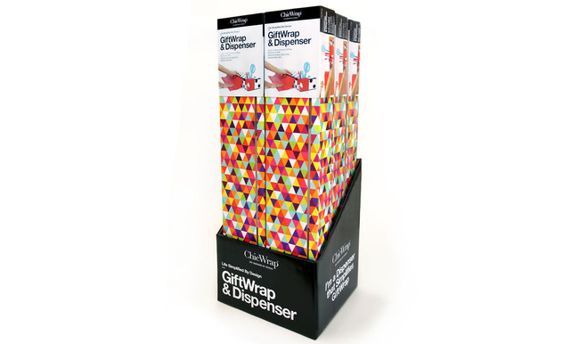 "Twin GiftWrap ""Triangles"" Dispenser Gift Pack"