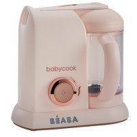 Beaba Babycook Solo Rose Gold Limited Edition up close
