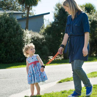 MooseNoose Toddler Safety Harness with child