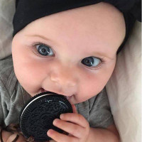 Haakaa Oreo Silicone Cookies FREE Teething Necklaces BPA FREE  baby's use