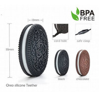 Haakaa Oreo Silicone Cookies FREE Teething Necklaces BPA FREE  size