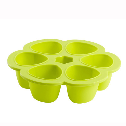 Beaba MultiPortions Silicone 6x90ml Neon