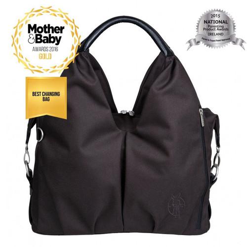 Lassig Green Label Neckline Baby Changing Bag - Black