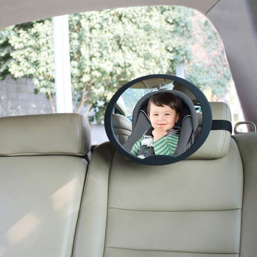 Babydan Adjustable Rear Seat Wide Angled Mirror - Large