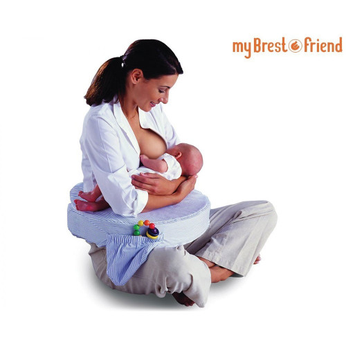 My Brest Friend Pillow – Blue Stripe