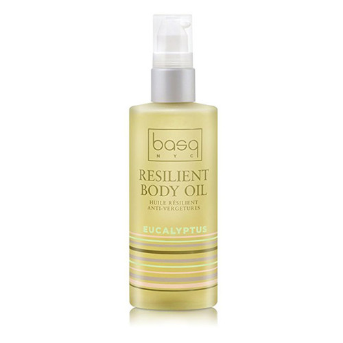 Basq Resilient Body Stretch Mark Oil - Eucalyptus