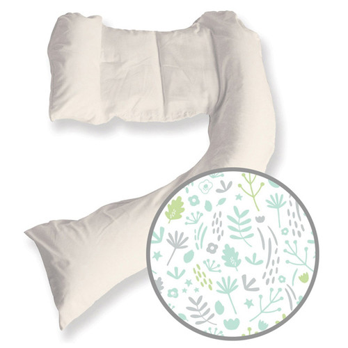 Dreamgenii Pregnancy Pillow Nature Green