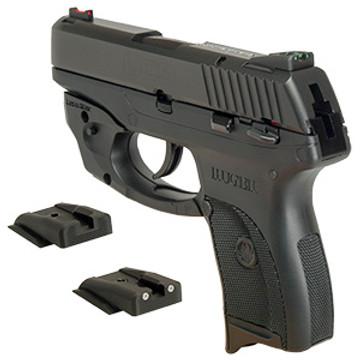 dawson precision ruger lc9 fixed carry black rear sights dawson