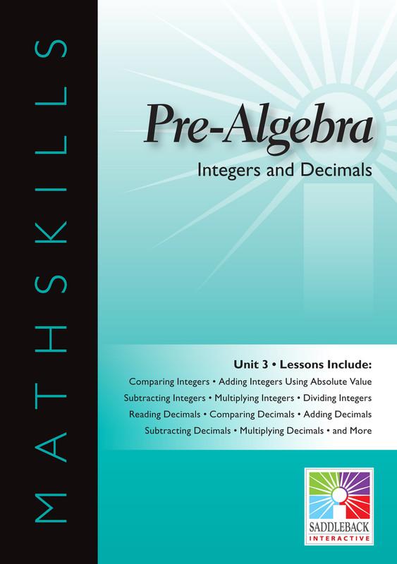 Integers & Decimals (Digital Download)