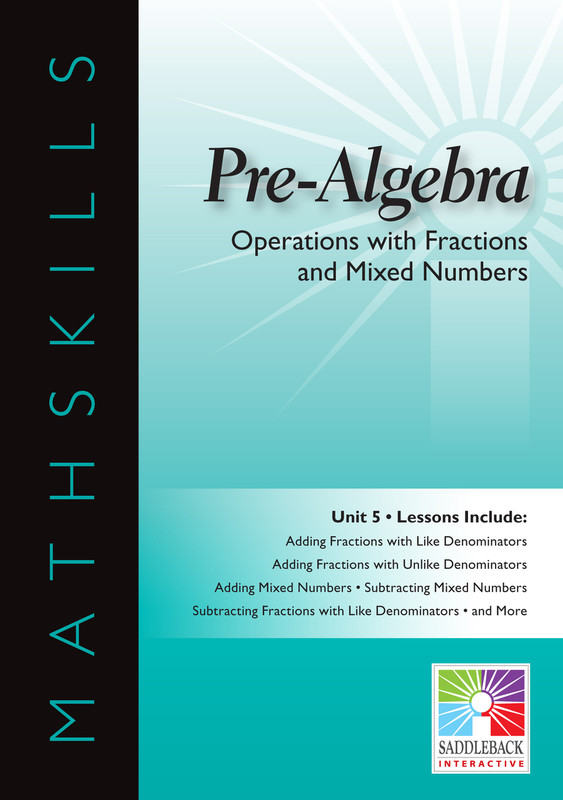 Operations with Fractions & Mixed Numbers (Digital Download)