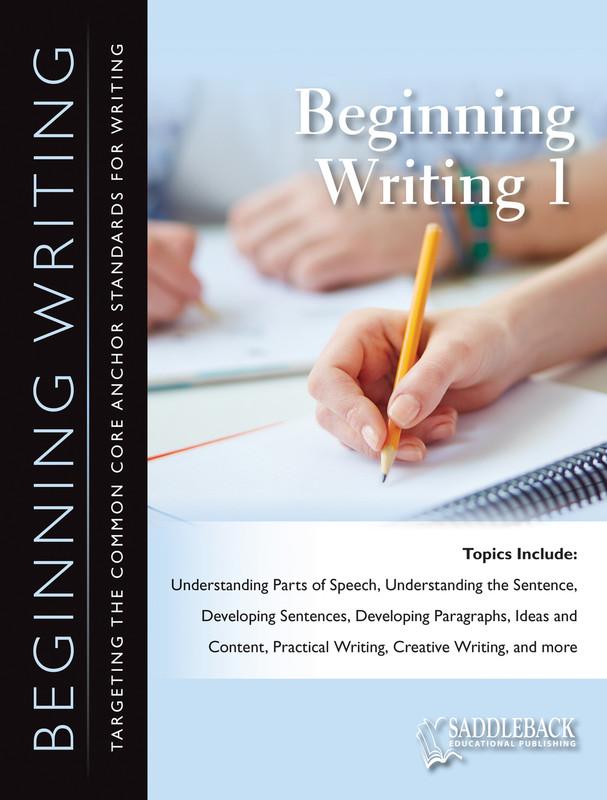 Beginning Writing 1 (Digital Download)