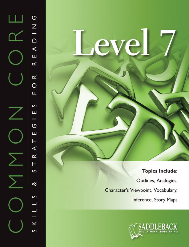 Common Core Skills & Strategies for Reading Level 7 (Digital Download)