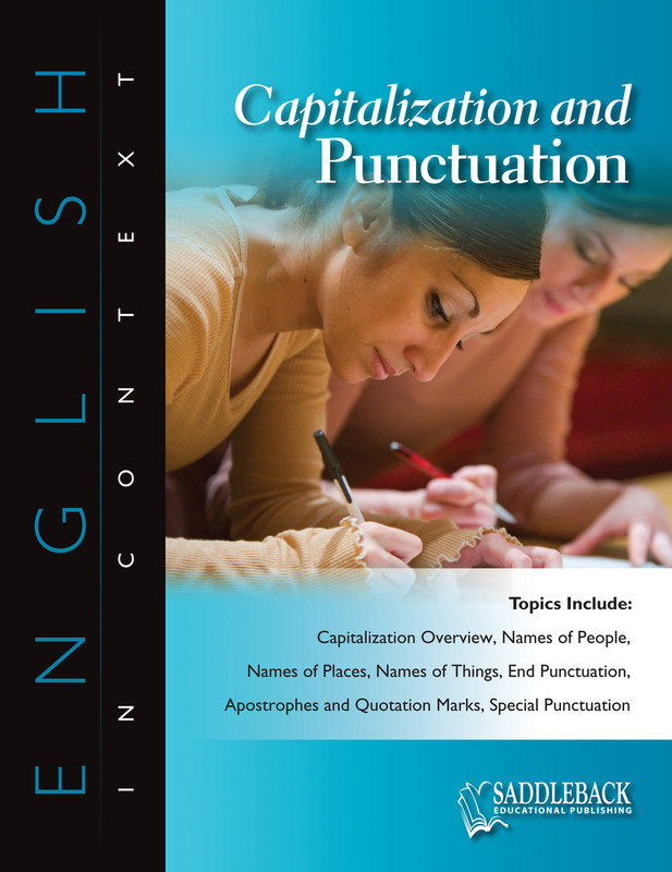 Capitalization and Punctuation (Digital Download)