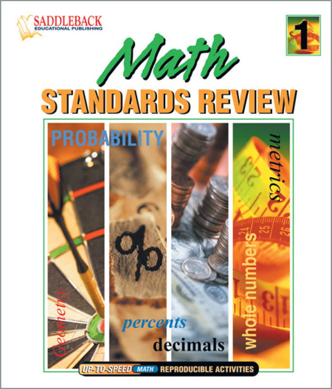 Math Standards Review 1 (Digital Download)