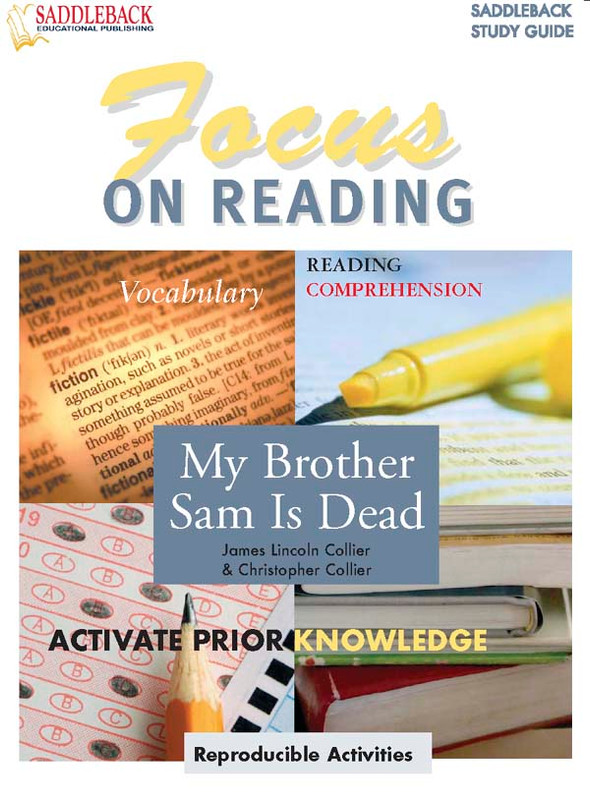 My Brother Sam is Dead: Focus on Reading Guide (Digital Download)