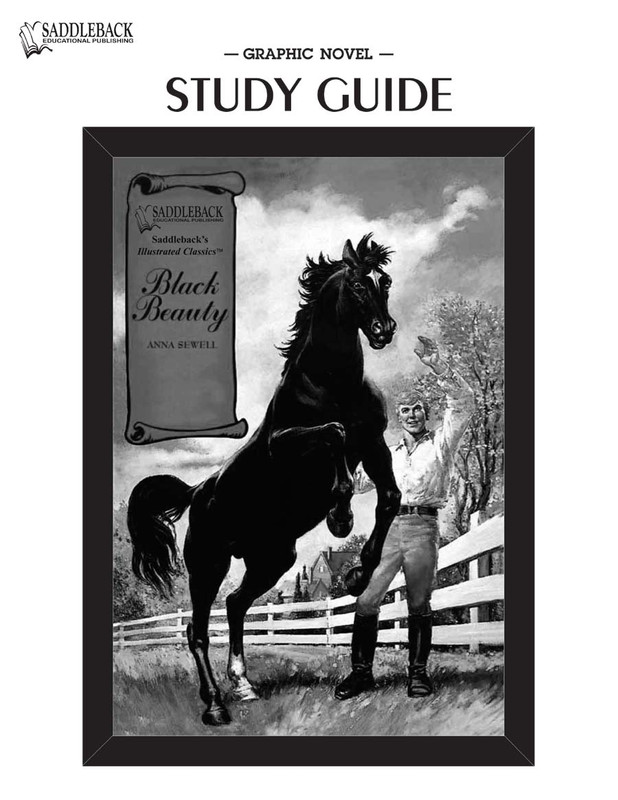 Black Beauty Graphic Novel Study Guide (Digital Download)