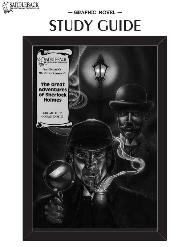 The Great Adventures of Sherlock Holmes Graphic Novel Study Guide (Digital Download)