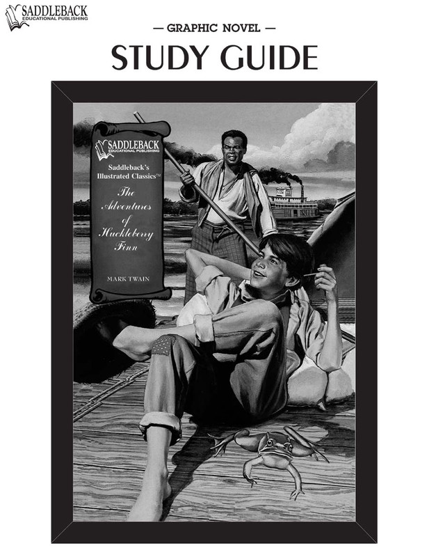 The Adventures of Huckleberry Finn Graphic Novel Study Guide (Digital Download)