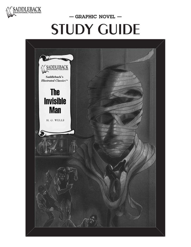 The Invisible Man Graphic Novel Study Guide (Digital Download)