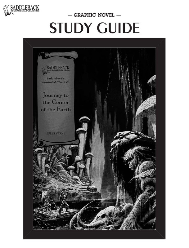 Journey to the Center of the Earth Graphic Novel Study Guide (Digital Download)