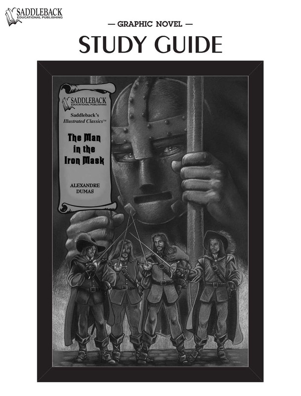 The Man in the Iron Mask Graphic Novel Study Guide (Digital Download)