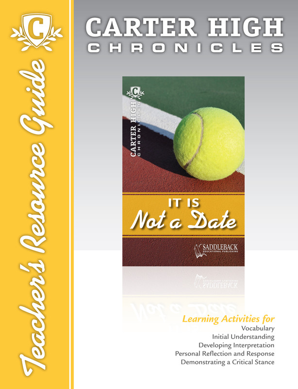 It Is Not a Date Teacher's Resource Guide (Digital Download)