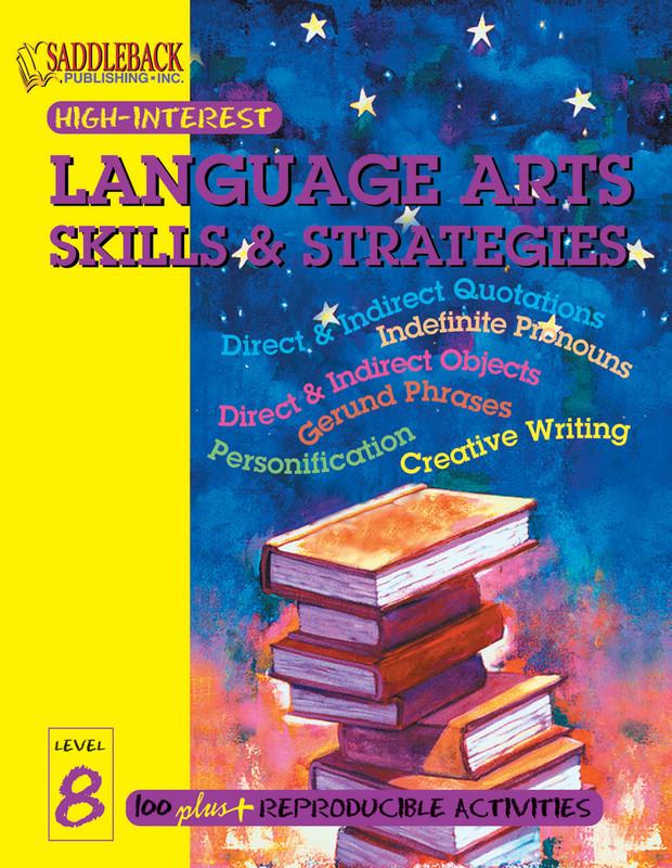 Language Arts Skills & Strategies Level 8 (Digital Download)