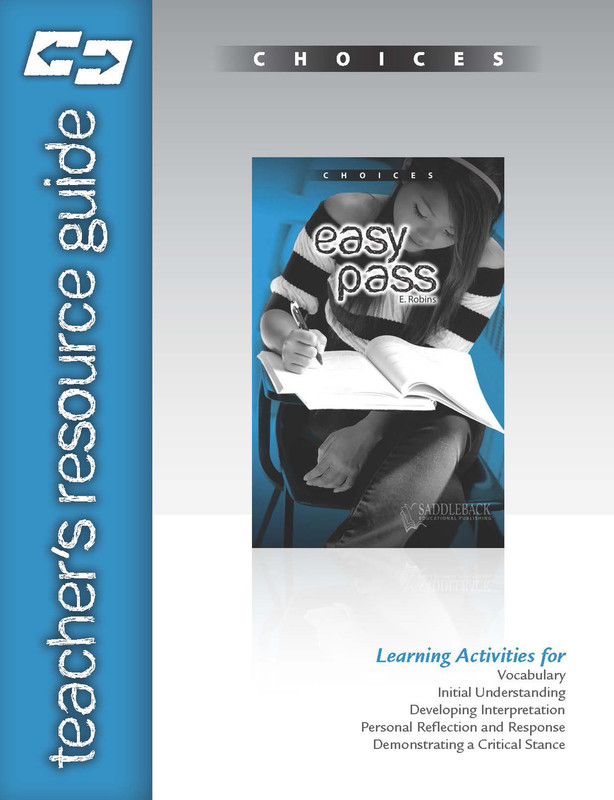 Easy Pass Teacher's Resource Guide(Digital Download)