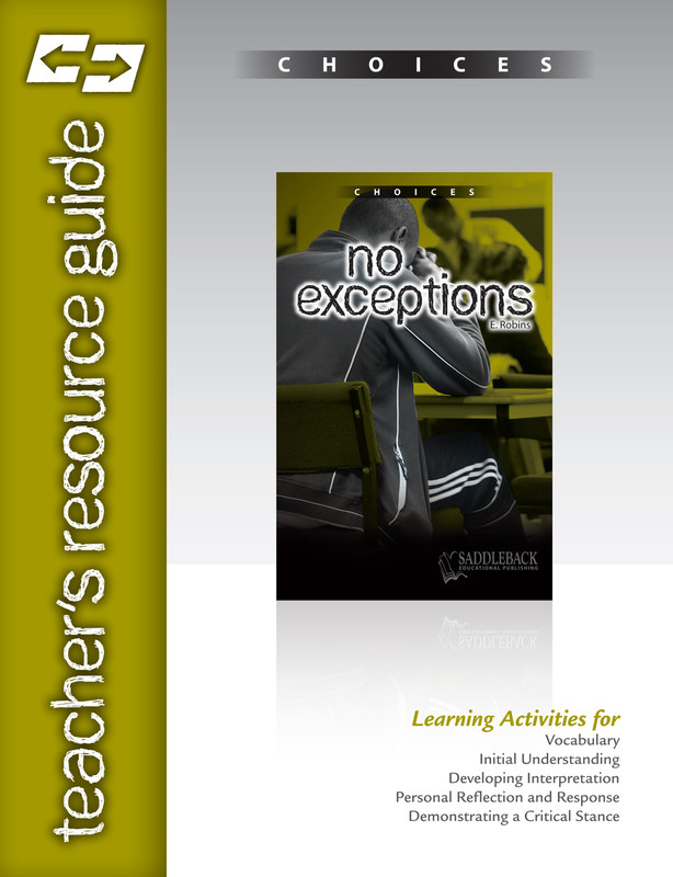 No Exceptions Teacher's Resource Guide(Digital Download)