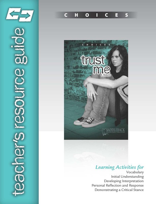 Trust Me Teacher's Resource Guide(Digital Download)
