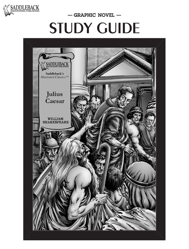 Julius Caesar Graphic Novel Study Guide (Digital Download)