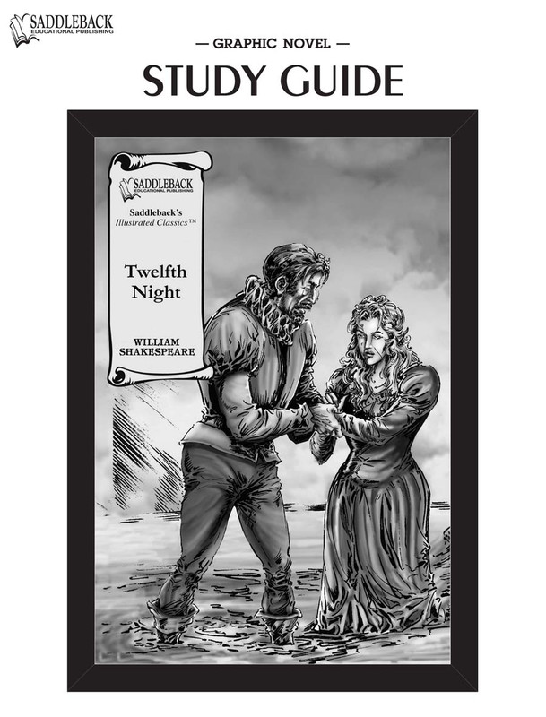 Twelfth Night Graphic Novel Study Guide (Digital Download)