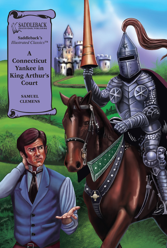 A Connecticut Yankee in King Arthur's Court Graphic Novel Audio (Digital Download)