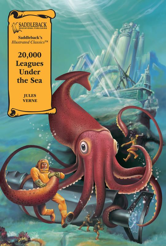 20,000 Leagues Under the Sea Graphic Novel Audio (Digital Download)