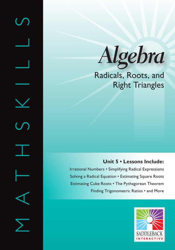 Radicals, Roots, & Right Triangles(Digital Download)