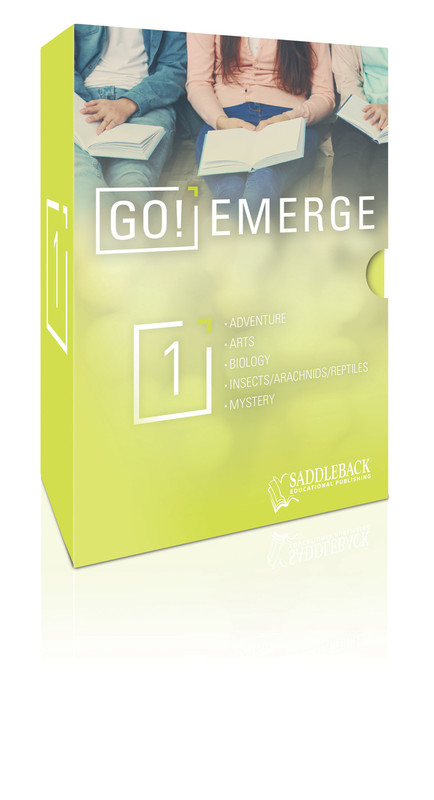 Tween Emergent Reader Libraries Additional Boxed Set - GO! Emerge  (1 each of 20 titles)