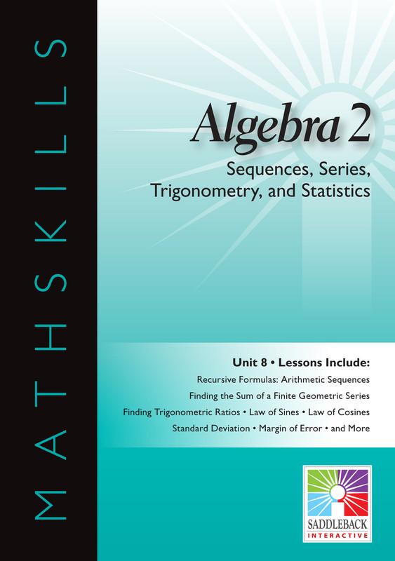 Sequences, Series, Trigonometry, & Statistics(Digital Download)